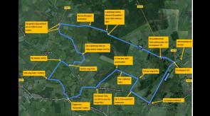25 km fiets tocht